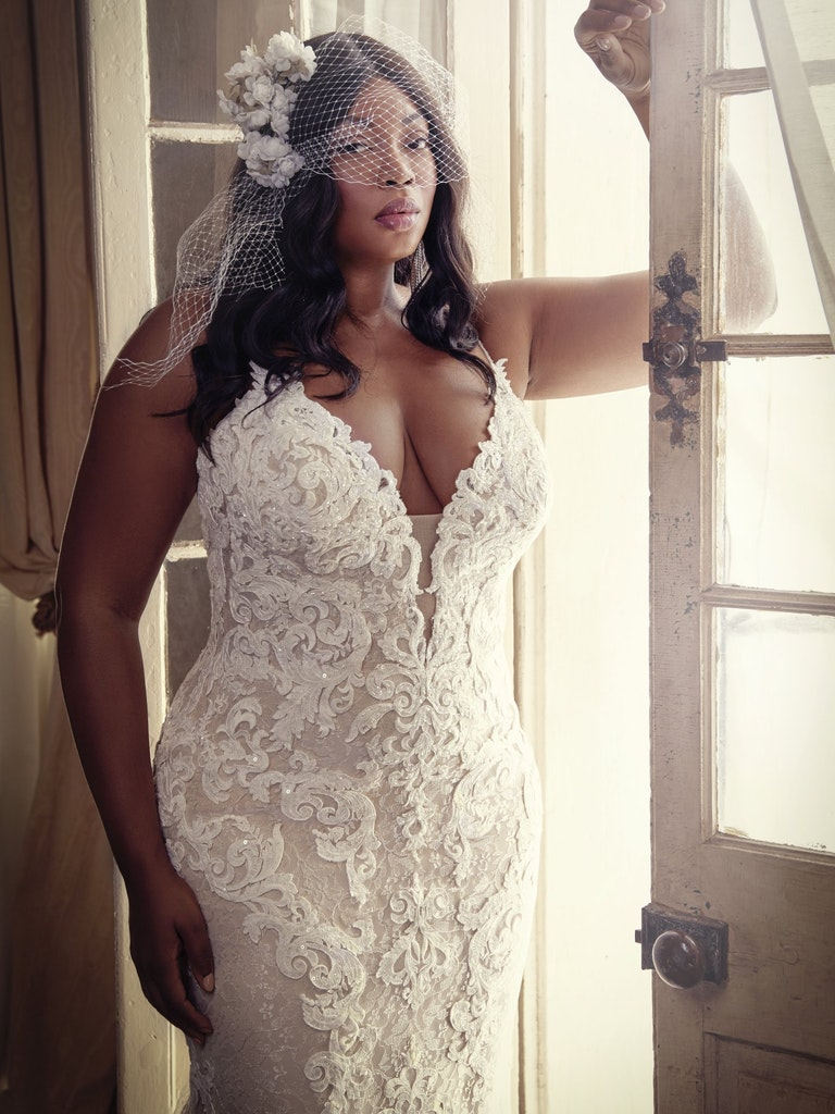 Stunning Wedding Dress for the plus side